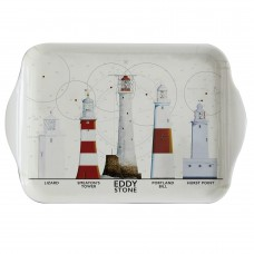 South West Coast Lighthouses Tray, 20cm