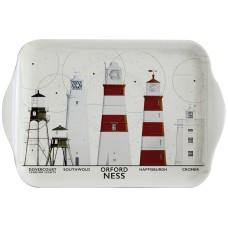 East Anglia Lighthouses Tray, 20cm