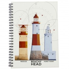 South Coast Lighthouses Notebook, 21cm