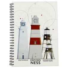East Anglia Lighthouses Notebook, 21cm