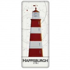 Happisburgh Lighthouse Fridge Magnet, 12cm