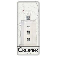 Cromer Lighthouse Fridge Magnet, 12cm