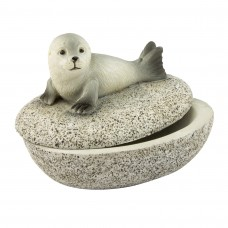 Seal Trinket Pot, 7cm