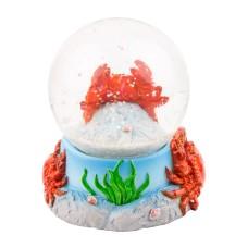 Crab Snowglobe, 6cm