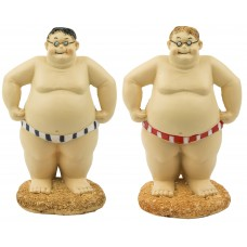 Fat Blokes, 17cm, 2 assorted