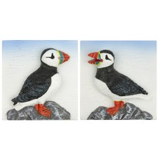 Puffin Magnets, 4cm, 2 assorted