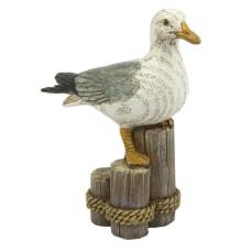 Seagull on Post, 10cm