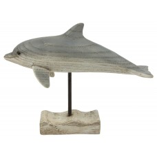 Dolphin on Stand, 20cm