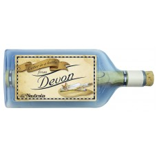 Letter-in-a-Bottle - Devon, 18cm, 2 assorted