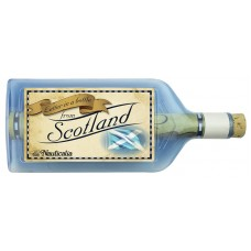 Letter-in-a-Bottle - Scotland, 18cm, 2 assorted