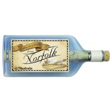Letter-in-a-Bottle - Norfolk, 18cm, 2 assorted