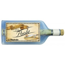 Letter-in-a-Bottle - Poole, 18cm, 2 assorted