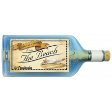 Letter-in-a-Bottle - The Beach, 18cm, 2 assorted