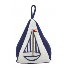 Yacht (Pyramid) Doorstop, 19cm