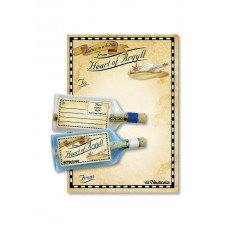 Letter-in-a-Bottle - Heart of Argyll, 18cm, 2 assorted