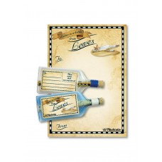 Letter-in-a-Bottle - Lewes, 18cm, 2 assorted