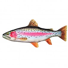 Rainbow Trout Cushion, 60cm