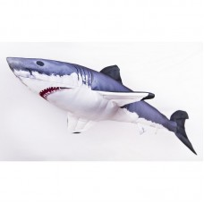 Great White Shark Cushion, 120cm