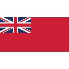 Red Ensign - sewn, 3/4 yard