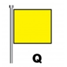 Code Flag Q - Customs Clearance