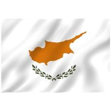 Courtesy Flag - Cyprus, 30x45cm