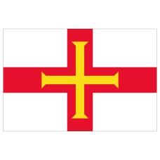 Courtesy Flag - Guernsey, 30x45cm