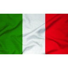 Courtesy Flag - Italy, 30x45cm
