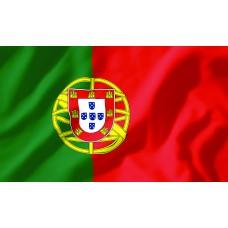 Courtesy Flag - Portugal, 30x45cm