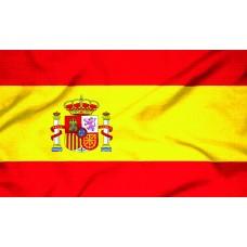 Courtesy Flag - Spain, 30x45cm