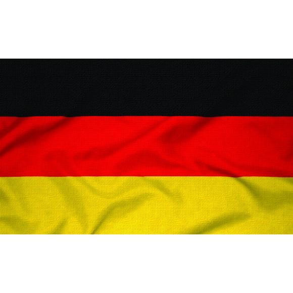 Courtesy Flag - Germany, 30x45cm
