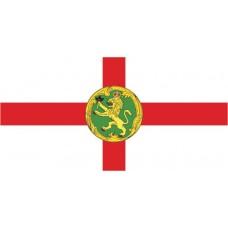 Courtesy Flag - Alderney, 30x45cm