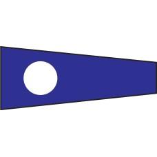 Courtesy Flag - Two, 30x45cm