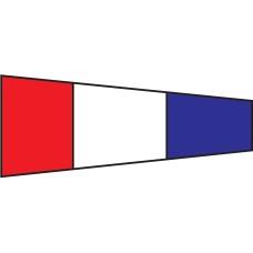 Courtesy Flag - Three, 30x45cm