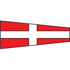 Courtesy Flag - Four, 30x45cm