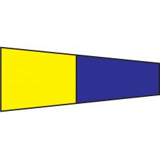 Courtesy Flag - Five, 30x45cm