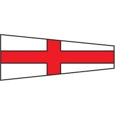 Courtesy Flag - Eight, 30x45cm