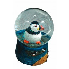 Puffin Snowglobe, 6cm