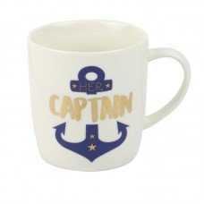 """Her Captain"" Mug, 400ml"