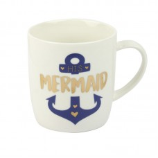 """His Mermaid"" Mug, 400ml"