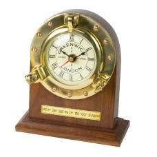 Greenwich 'Where Time Begins' Desk Clock