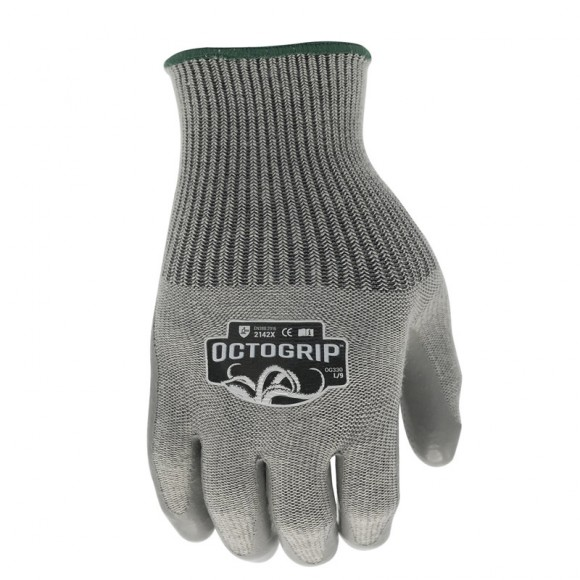 OctoGrip Heavy Duty Polycotton Glove, large