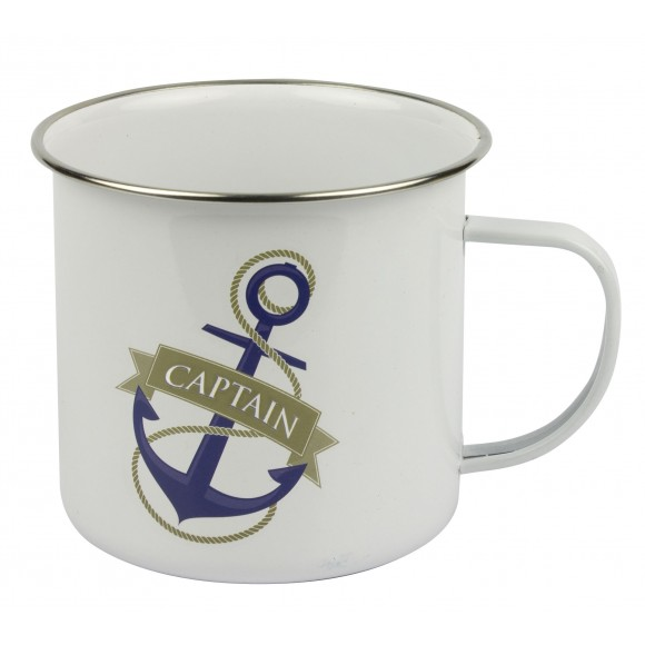 Explorer Tin Mug - Captain