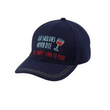 Yachting Cap - Old Sailors Turn to Port
