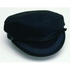 Breton Cap, black, size 57