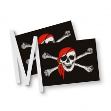Pirate Bunting 20 flags, 6m