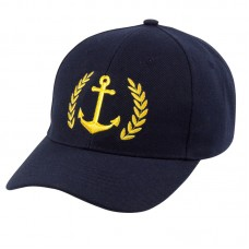 Anchor/Leaf Yachtsman Cap