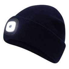 LED Beanie, black