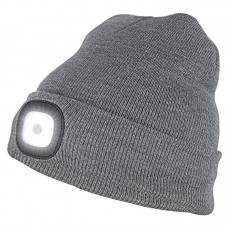 LED Beanie, grey