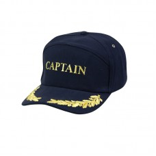 Captain & Gold Leaf Yachting Cap