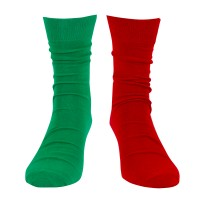 Captain's (port/starboard) Socks, red/green